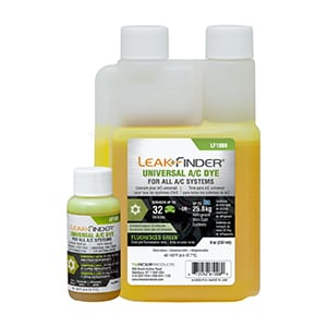 LeakFinder fluorescent dye for universal a/c