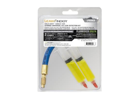 SOLO-SHOT Single-Use Syringe Universal A/C Leak Detection Kit