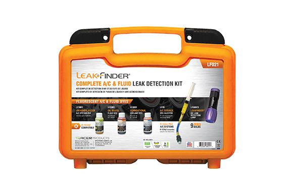 LF021 Complete AC Fluid Leak Detection Kit