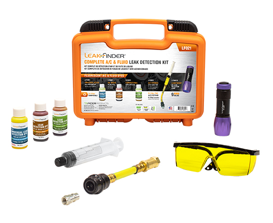 Complete AC and Fluid UV Leak Detection Kit