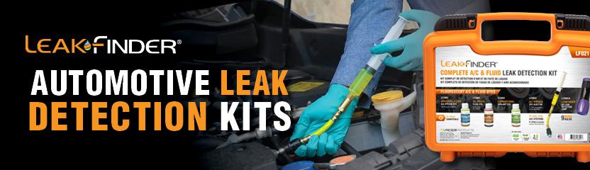 Leakfinder Automotive Aftermarket Leak Detection Kits